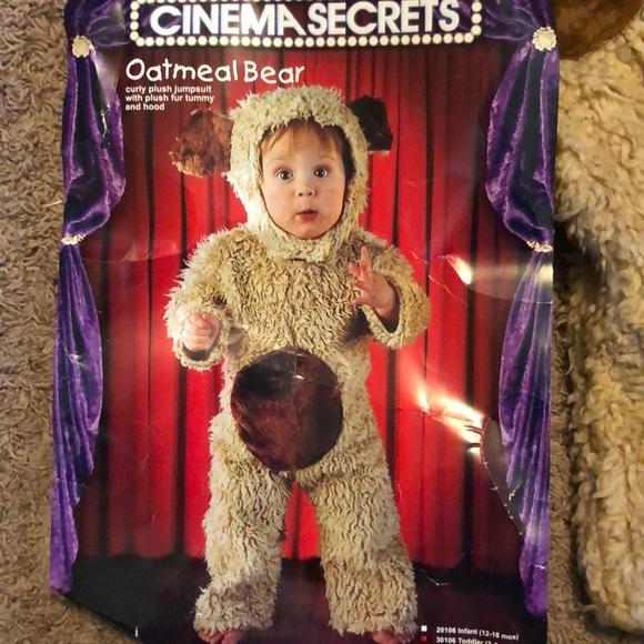 Toddler Oatmeal Bear Costume
